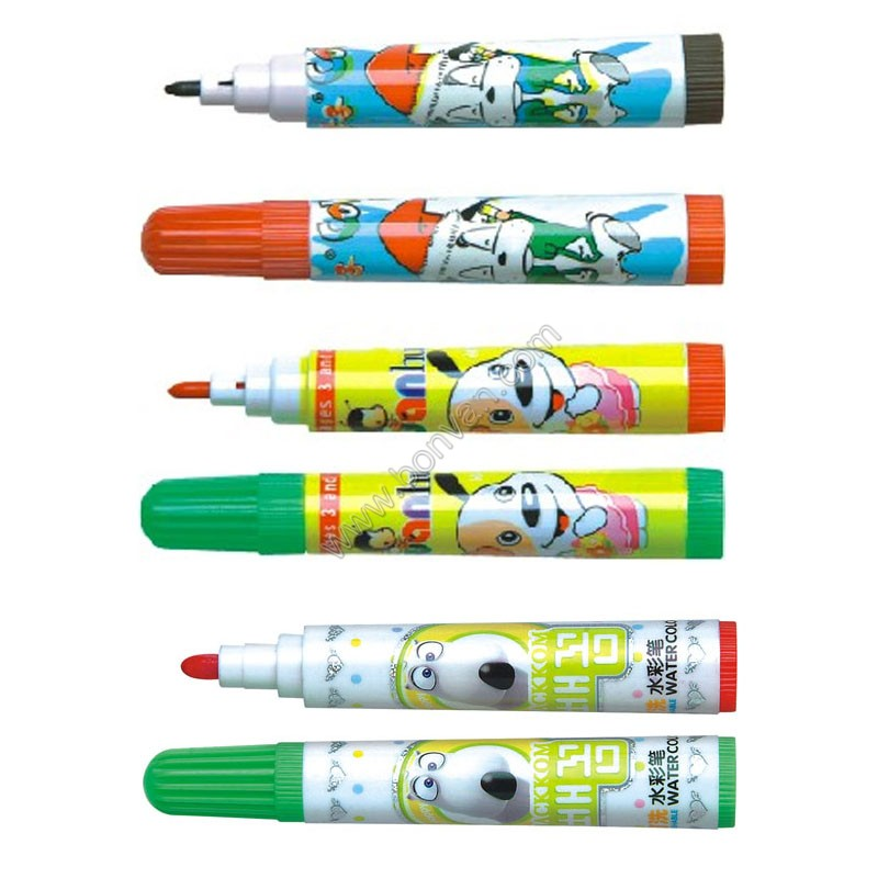kids watercolor marker
